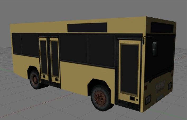 SDK-Demobus in Blender